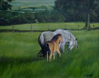 Oil Portrait Painting Indy