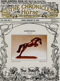 Chronicle of the Horse Cover : Unbridled Splendor